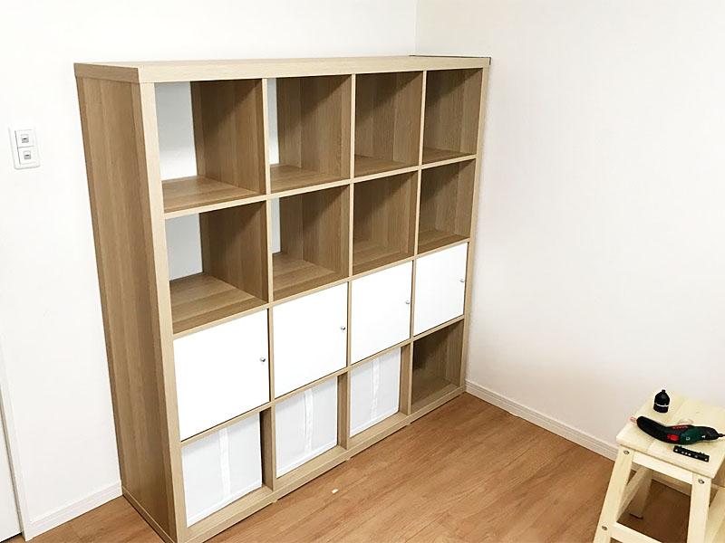 部屋の形状がシンプルだから家具を設置しやすい